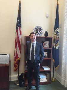 OMB Senior Advisor for Privacy Marc Groman in his office at the White House