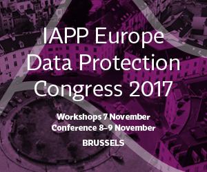 IAPP Europe Data Protection Congress 2017