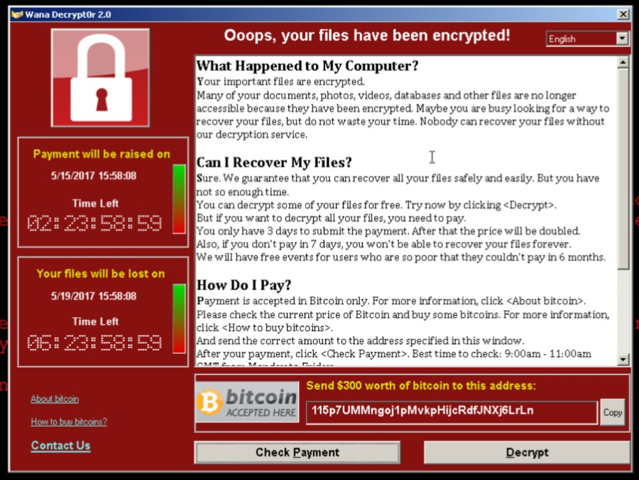 Catching up on the world's largest-ever ransomware attack