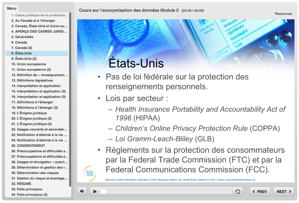 New free courses on anonymization and data privacy