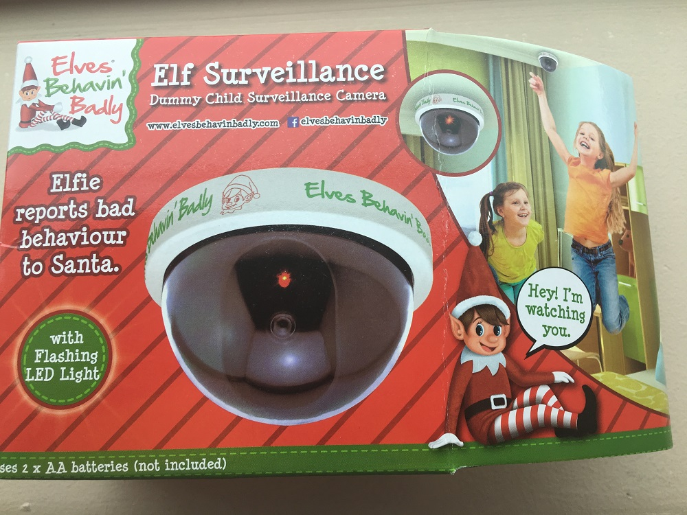 Dummy Christmas CCTV camera for kids is a real lump of coal