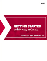 Getting Started with Privacy in Canada