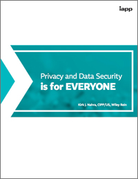 Privacy and Data Security is for Everyone
