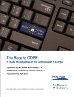 GDPR ponemon study