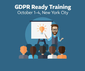 Get GDPR Ready in NYC!