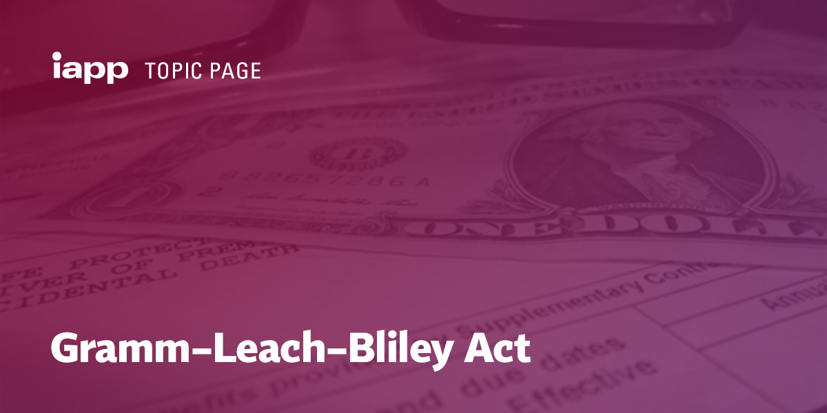 Gramm–Leach–Bliley Act
