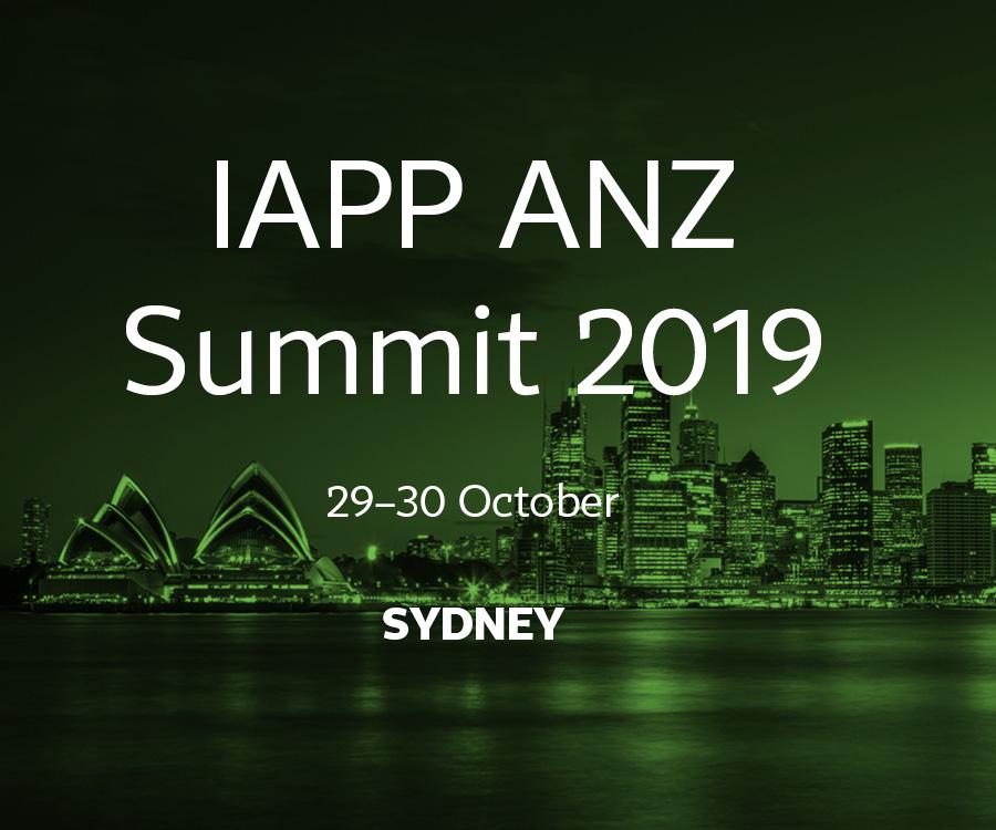 One month until IAPP ANZ Summit 2019