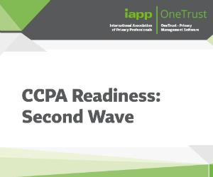 CCPA Readiness survey