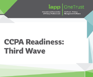 CCPA Readiness: Third Wave