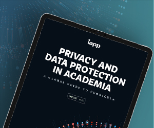 IAPP Privacy and Data Protection in Academia