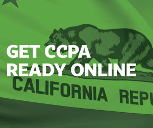 Get CCPA Ready Online