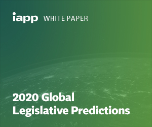 White Paper – 2020 Global Legislative Predictions