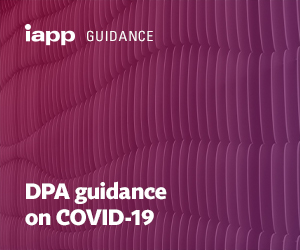 DPA guidance on COVID-19