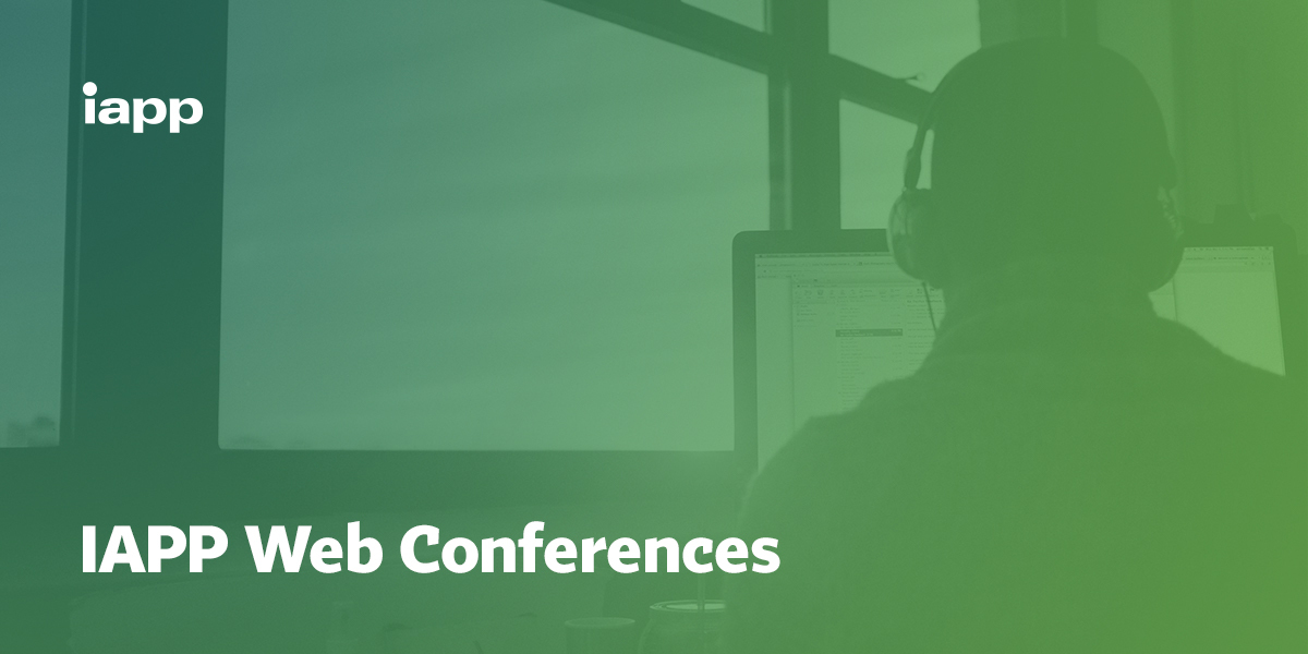 IAPP Web Conferences