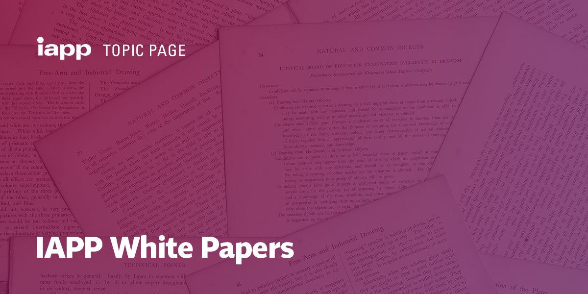 IAPP White Papers