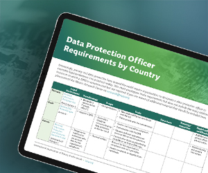 Data Protection Officer Requirements by Country