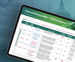 US Federal Privacy Legislation Tracker