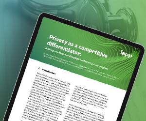 White Paper – Privacy as a competitive differentiator